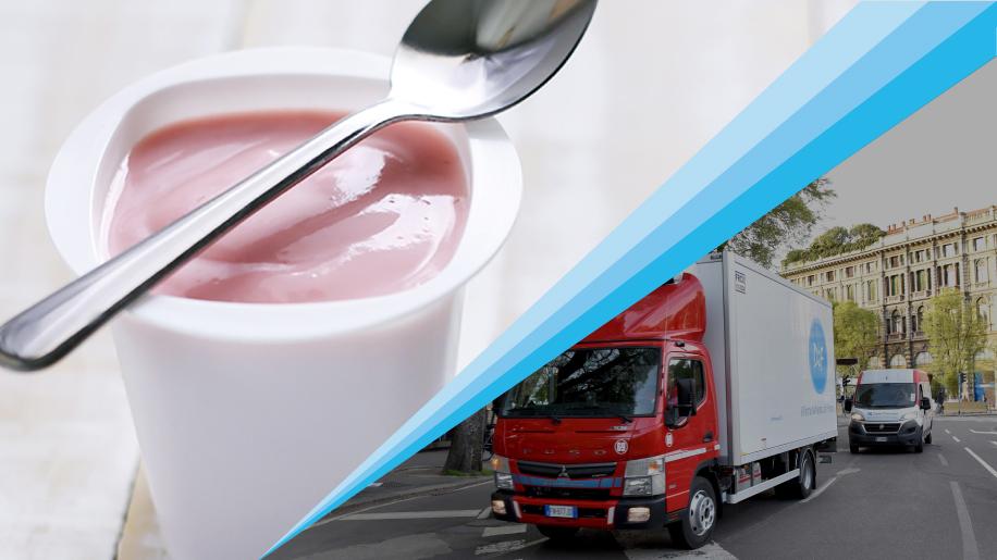 Con DIF distribuire yogurt è semplice e veloce!